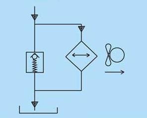 Теплообменники для охлаждения масла. Маслоохладитель AF0510T